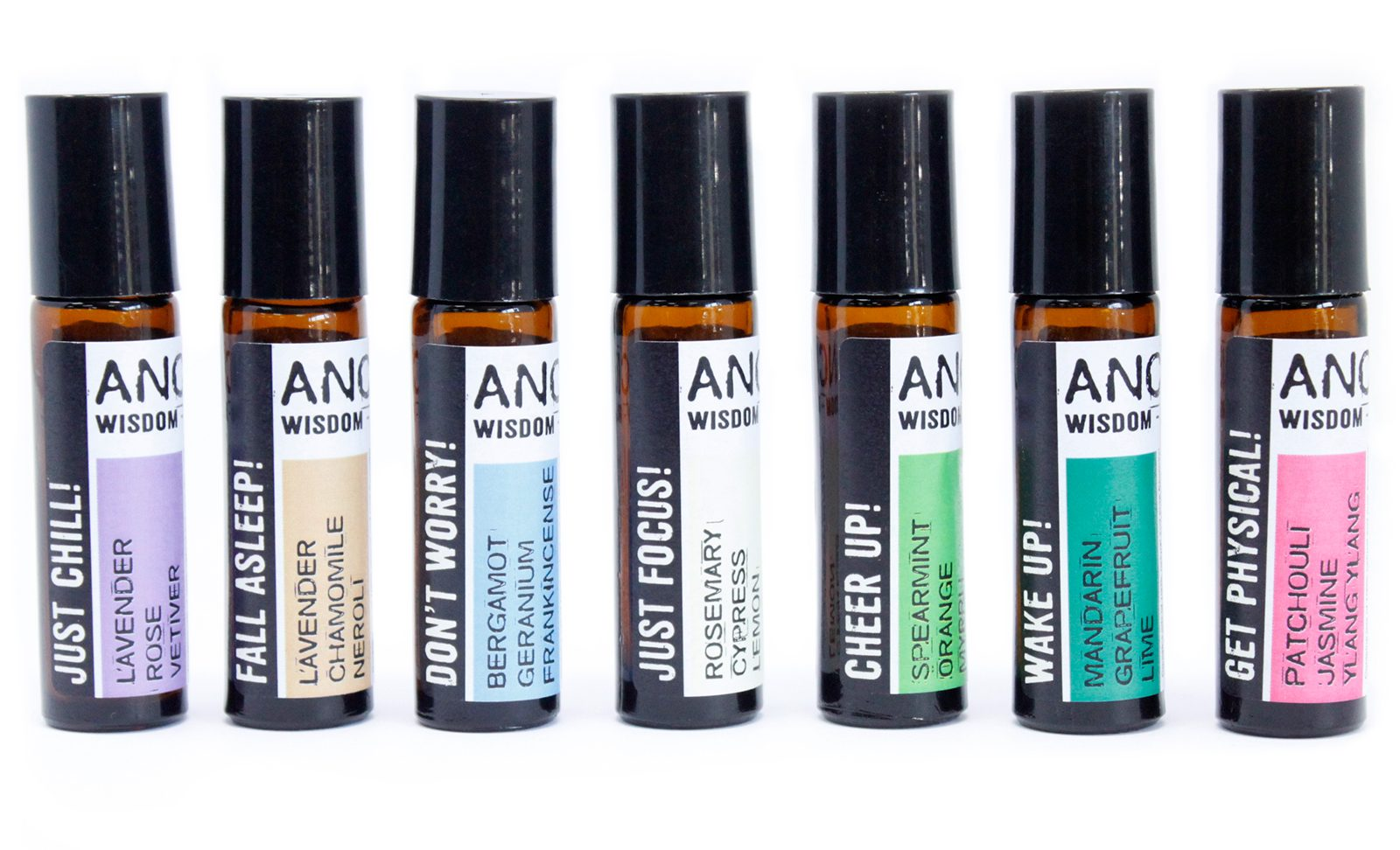 aromatherapy essential oils blends roll ons